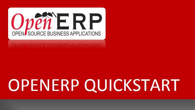 OpenERP QuickStart